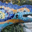 Park Guell Dragon — Stock Photo