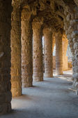 Lovers Viaduct, Park Guell — Stock Photo