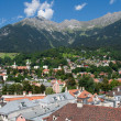 Innsbruck and the Nordkette — Stock Photo