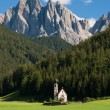 Church of Santa Maddalena - Stock Photo