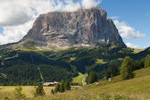 Langkofel, east face — Stock Photo