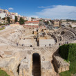 Amphitheatre of Tarragona - Stock Photo