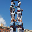 Castellers of Poble Sec — Stock Photo #25412181