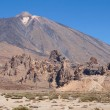 Roques de Garcia and Teide — Stock Photo