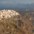 Thira from Firostefani — Stock Photo