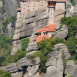 Suspended monastery of Roussanou — Stock Photo