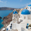 Santorini and Therasia — Stock Photo
