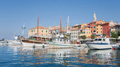 Port of Rovinj — Stock Photo