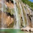 Plitvice Big Waterfall — Stock Photo