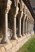 Cloister of La Seu de Urgell — Stock Photo
