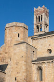 Cathedral of La Seu de Urgell — Foto de Stock