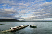 湖 laugartvatn — 图库照片