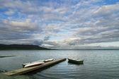 Lake Laugartvatn — Stock Photo