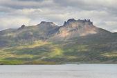Breiddalur central volcano — Stock Photo