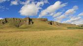 Kirkjubaejarklaustur hills — Stock Photo