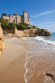 Castle of Tamarit, Tarragona — Stock Photo