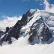 Mont Blanc du Tacul — Stock Photo
