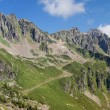 Aiguilles Rouges panorama — Stock Photo