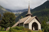 Chapel of Les Praz — Stock Photo