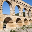 Stock Photo: Romaqueduct Pont du Gard