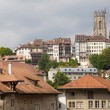 Upper City of Fribourg — Stock Photo