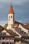 Stadtkirche in Thun — Stock Photo
