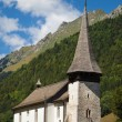 Alte Kirche, Cantorama in Jaun — Stock Photo