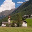 Niederthai in Tyrol — Stock Photo