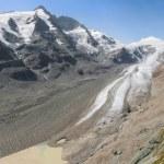 Grossglockner and Pasterze glacier — Stock Photo