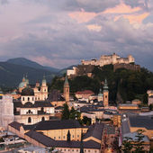 City of Salzburg — Stock Photo