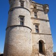Stock Photo: Gordes Castle