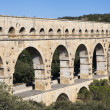 Nimes Aqueduct Pont du Gard — Stock Photo