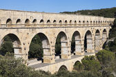 Nimes Aqueduct Pont du Gard — ストック写真