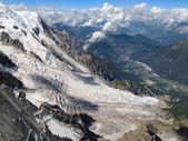 Glacier des Bossons — Foto Stock