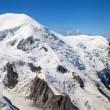 Dome and Aiguille du Gouter — Stock Photo