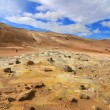 Hverir volcanic landscape — Stock Photo