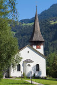 Lauterbrunnen church — Stock Photo