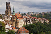 City of Fribourg — Stock Photo