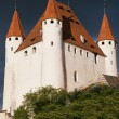 Stock Photo: Thun Castle