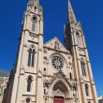 Church Saint Baudille in Nimes — Stock Photo