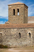 Bell tower of Sant Pere de Casserres — Stock Photo