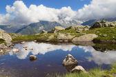 Lac Blanc reflection — Photo
