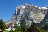 Wetterhorn from Grindelwald — Stock Photo