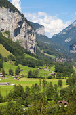 Lauterbrunnen Cliffs — Stock Photo
