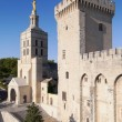 Cathedral of Avignon and Tour de la Campane — Stock Photo #45717829