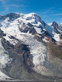 Breithorn Glacier — Stock Photo