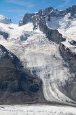 Schwarze Glacier — Stock Photo