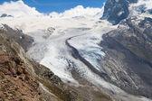 Monte Rosa Glacier — Stock Photo