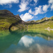 Bachalpsee in summer — Stock Photo