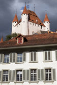 Thun Castle from the City Hall — Stock Photo